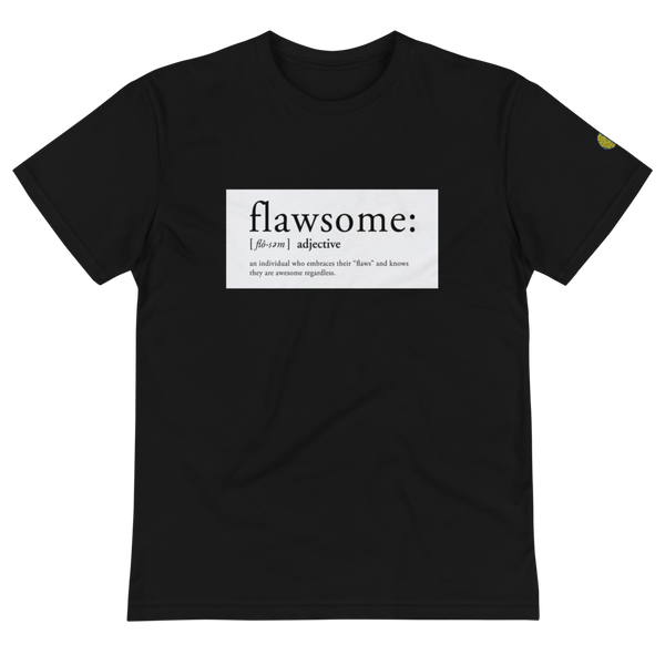 FLAWSOME - Womens B Sustainable T-Shirt yosicollective.myshopify.com