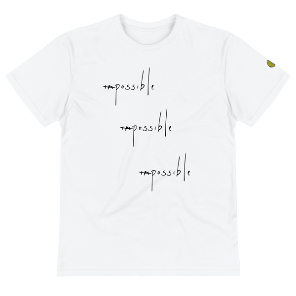 IMPOSSIBLY POSSIBLE - Mens W Sustainable T-Shirt yosicollective.myshopify.com