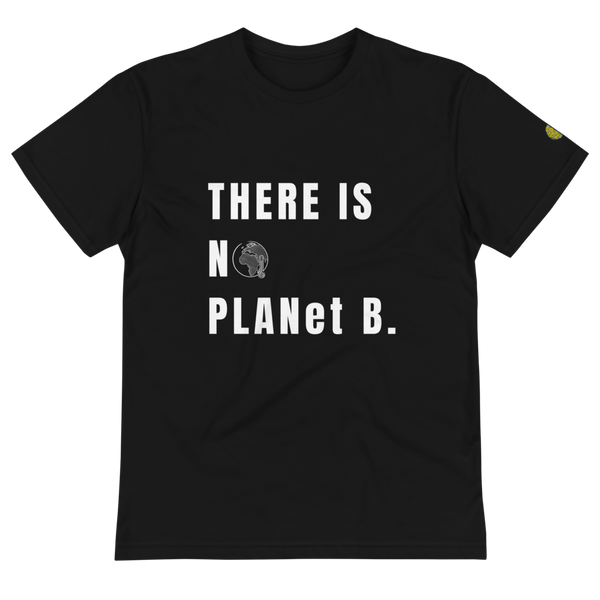 NO PLANet B - Mens B Sustainable T-Shirt yosicollective.myshopify.com
