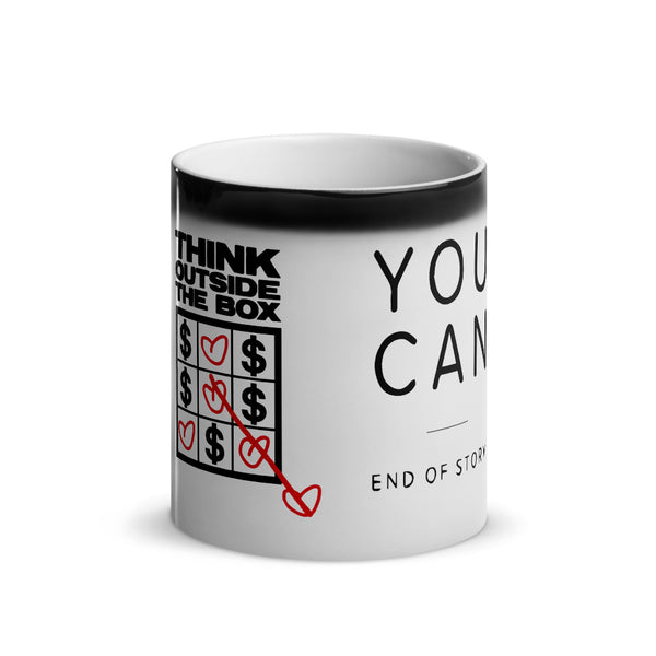 Flagship Motivation MAGIC Mug - Glossy Black yosicollective.myshopify.com