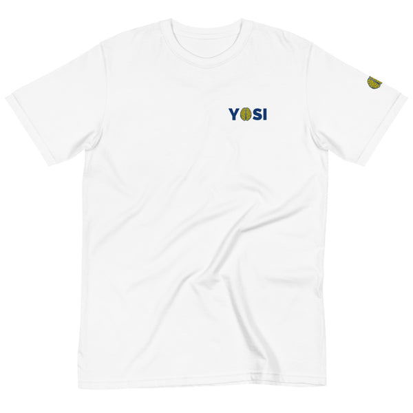 yosicollective,YOSI Flagship - Chest Logo - Unisex W 100% Organic T-Shirt