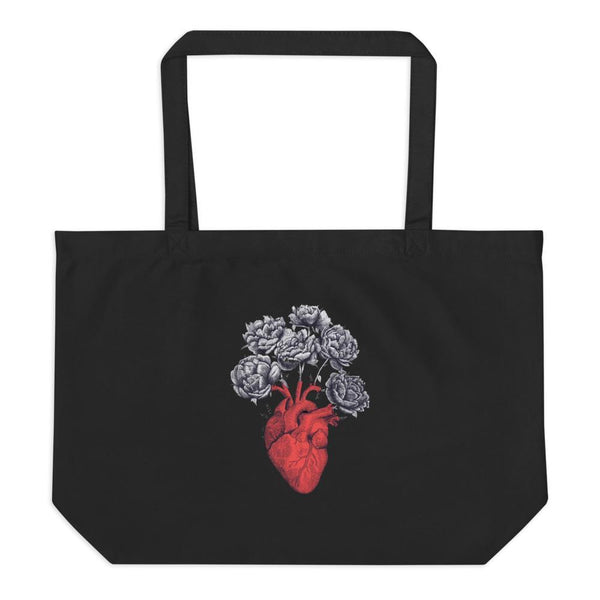 yosicollective,YOSI Large Organic Tote Bag - Let The Love Grow