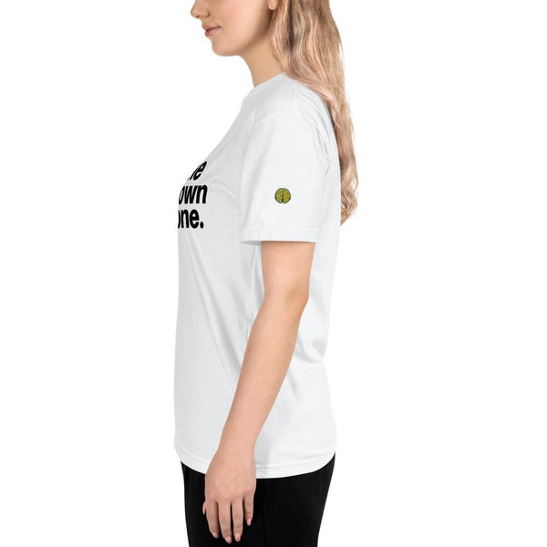 ANTI MODERN DAY SLAVERY - Womens W Sustainable T-Shirt yosicollective.myshopify.com