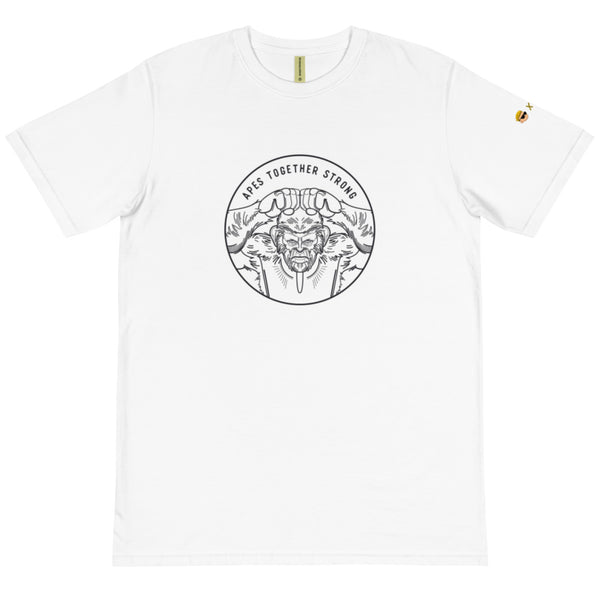 Apes Together Strong - Unisex 100% Organic T-Shirt