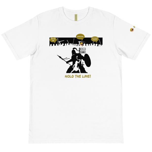 David vs Goliath Gamestonk! -  Unisex 100% Organic Cotton T-Shirt