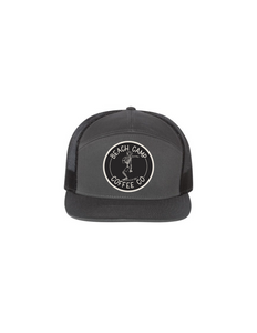 Beach Camp 7 Panel Snap Back