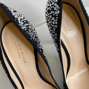 Philipp Plein Black & Crystal Pumps