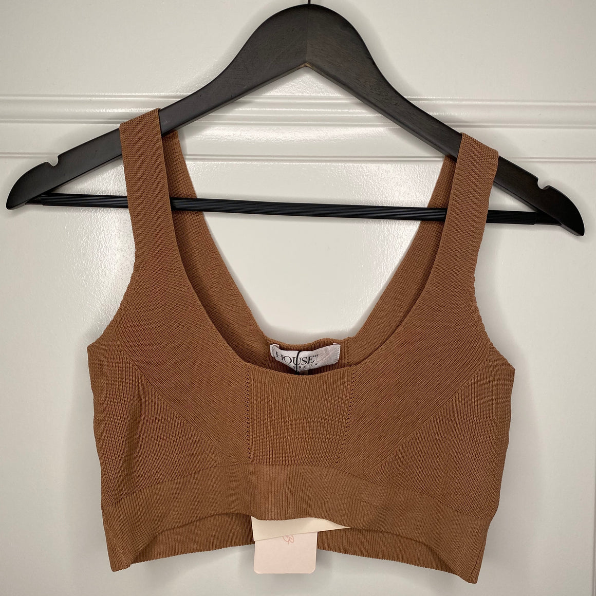 Camel House Of CB Knit Crop Top