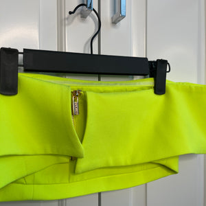 Neon Green House Of CB Crop Top