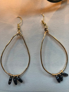 Renegede hoop earrings