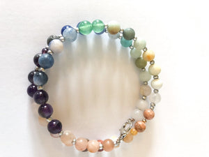 Over the rainbow bracelet