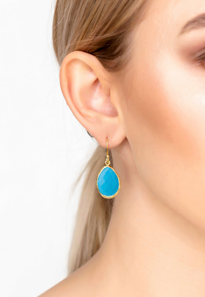 latelita turquoise blue gemstone natural jewellery collection earrings rings bracelets necklaces