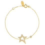 Open Star Bracelet - LATELITA