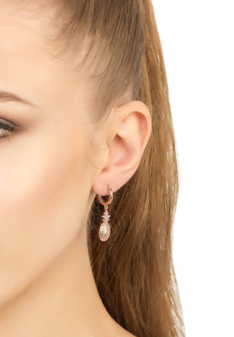Stingray Hollow Tear Earring Kiwi - LÁTELITA - 1