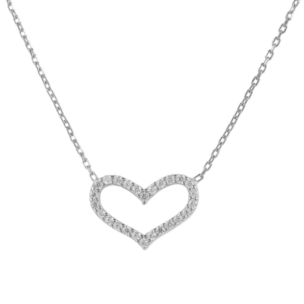 Love Heart Necklace - LATELITA