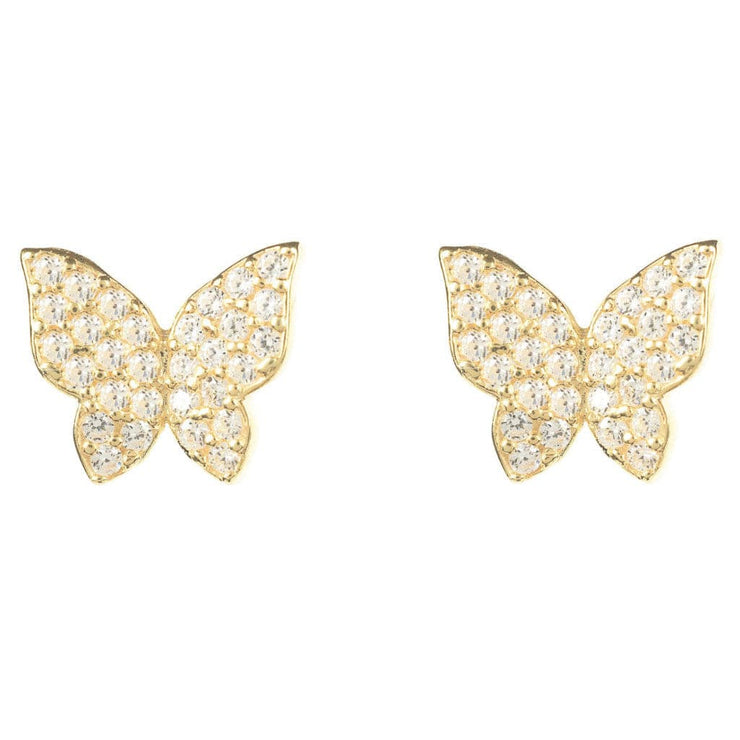 Closed Butterfly earring - LÁTELITA - 3