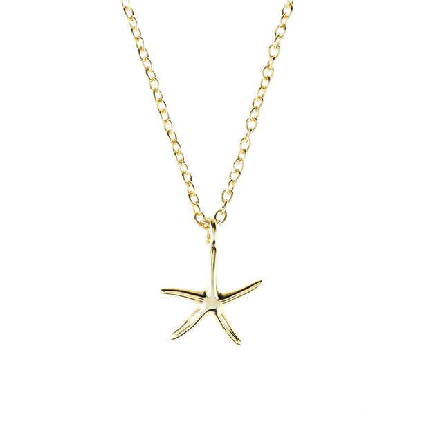Petite Starfish necklace - LATELITA