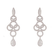 Shannon Celtic Knot Earrings Silver