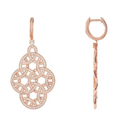 Celtic Aoife Earring Rose Gold