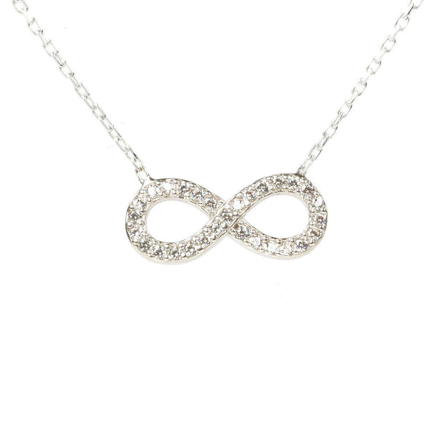 Eternity Infinity Necklace - LATELITA