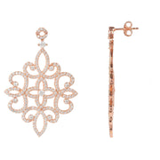 Sherazade Earrings Rose gold