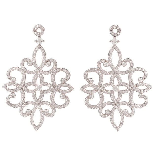 Sherazade Earrings Silver