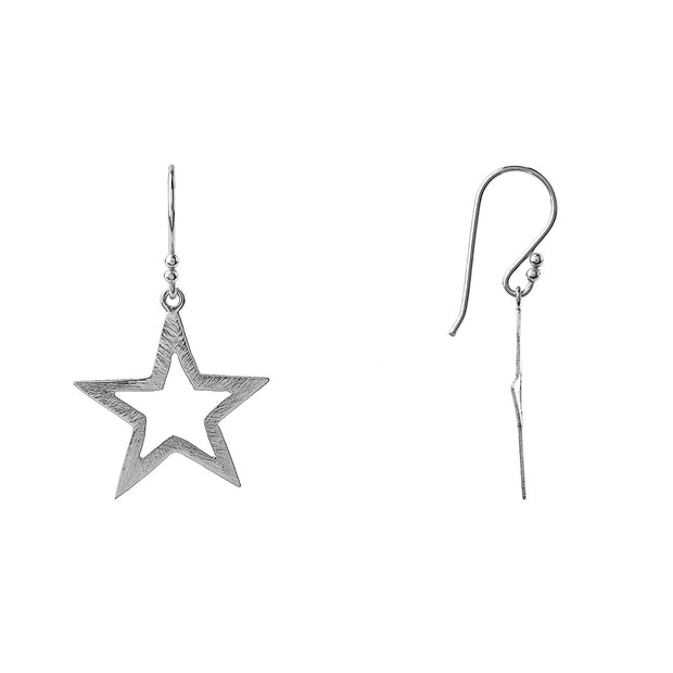 Large Open Star Earring - LÁTELITA - 7