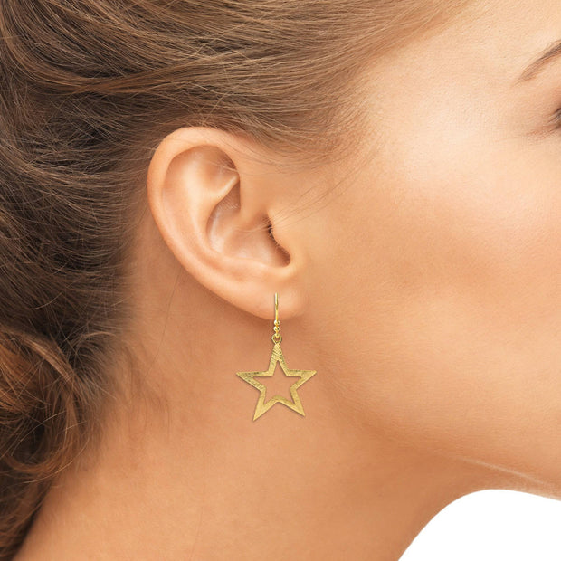 Large Open Star Earring - LÁTELITA - 4