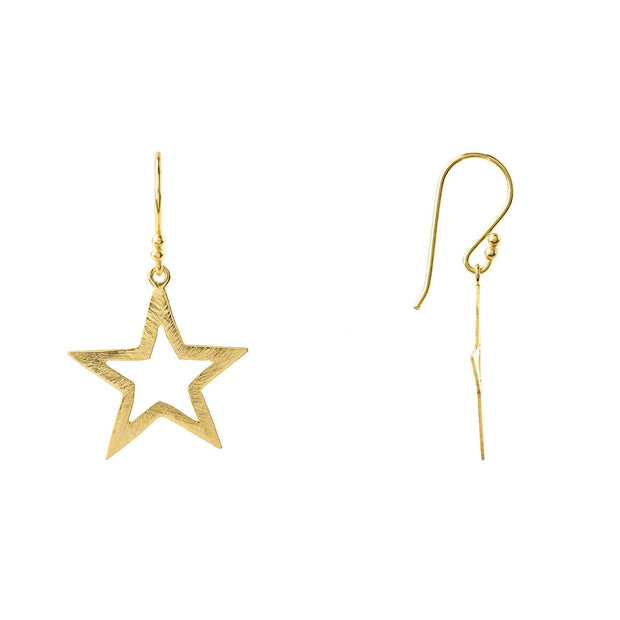 Large Open Star Earring - LÁTELITA - 9