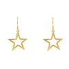 Large Open Star Earring - LÁTELITA - 2