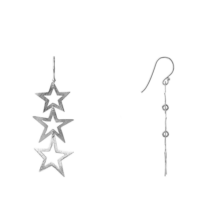 Triple Open Star Earring - LÁTELITA - 6