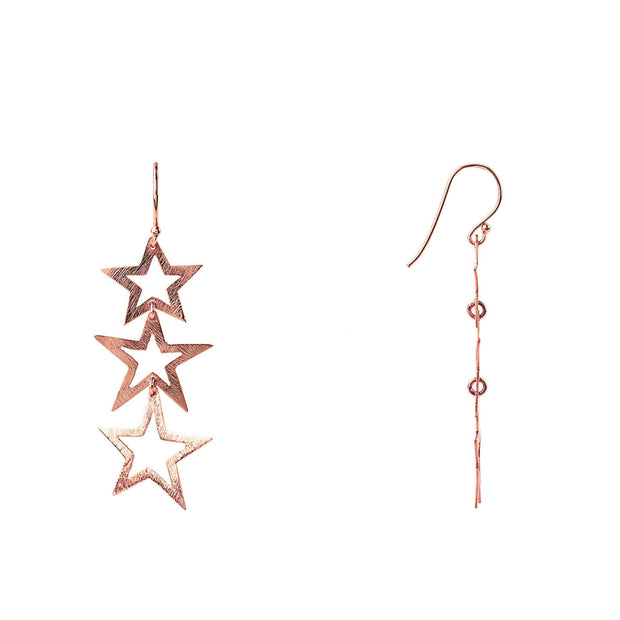 Triple Open Star Earring - LÁTELITA - 7