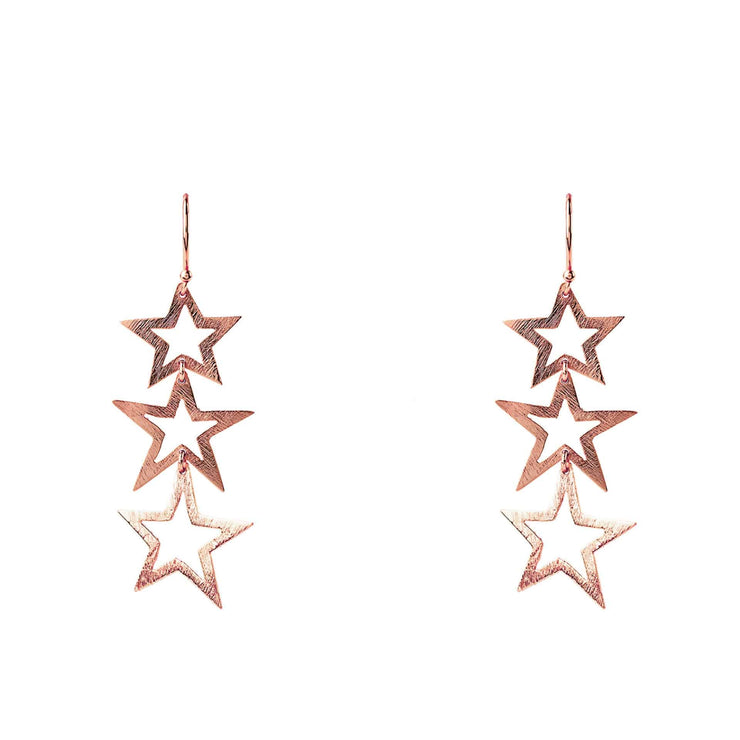 Triple Open Star Earring - LÁTELITA - 1