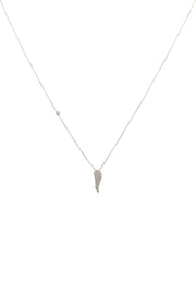 Angel Wing Small Pendant Necklace - LATELITA