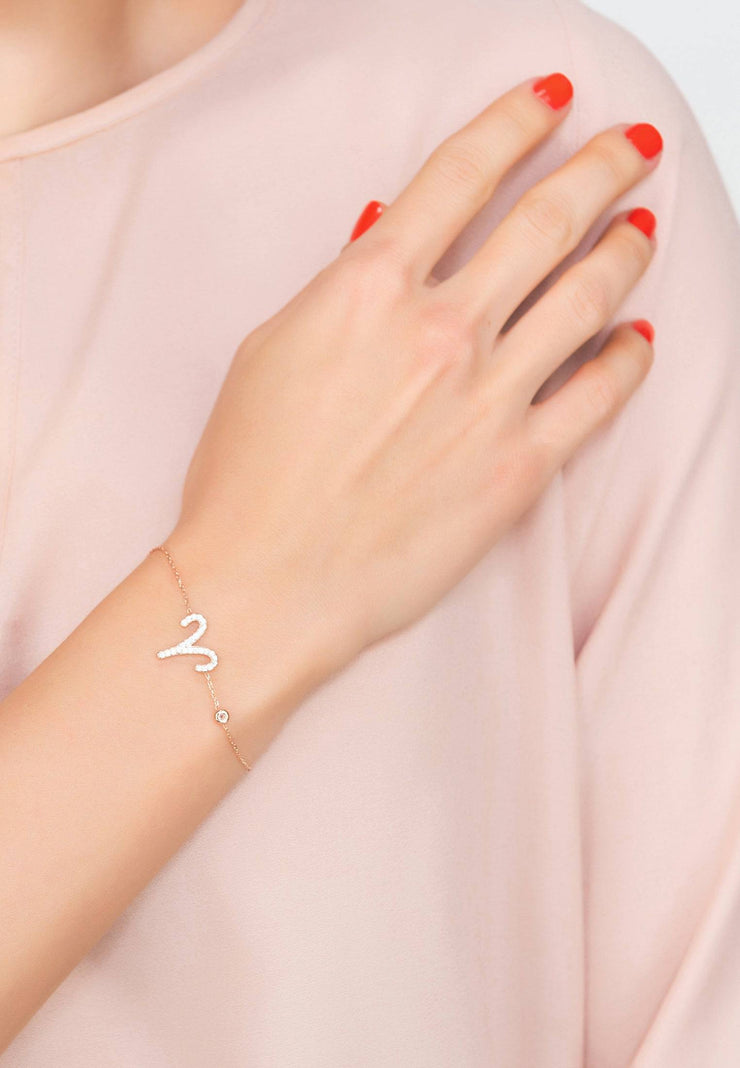 Zodiac Horoscope Star Sign Bracelet Aries - LATELITA