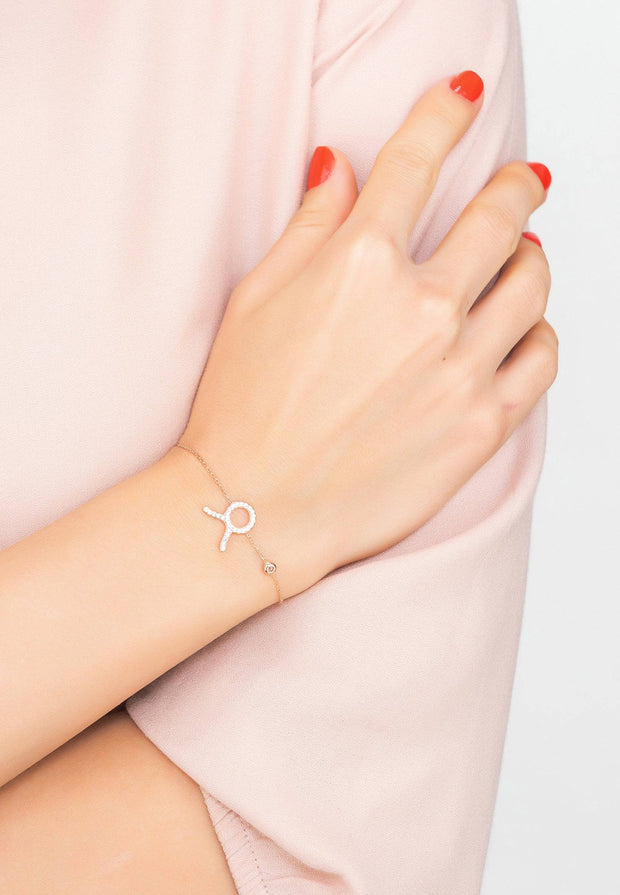 Zodiac Horoscope Star Sign Bracelet Taurus - LATELITA