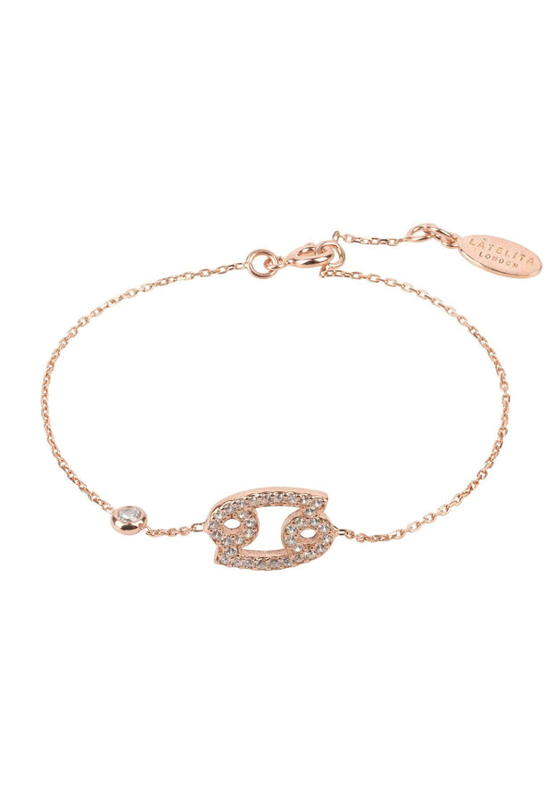 Zodiac Horoscope Star Sign Bracelet Cancer - LATELITA