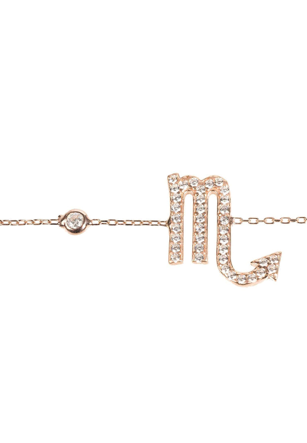 Zodiac Horoscope Star Sign Bracelet Scorpio - LATELITA