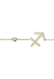 Zodiac Horoscope Star Sign Bracelet Sagittarius