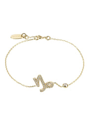 Zodiac Horoscope Star Sign Bracelet Capricorn