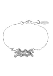 Zodiac Horoscope Star Sign Bracelet Aquarius