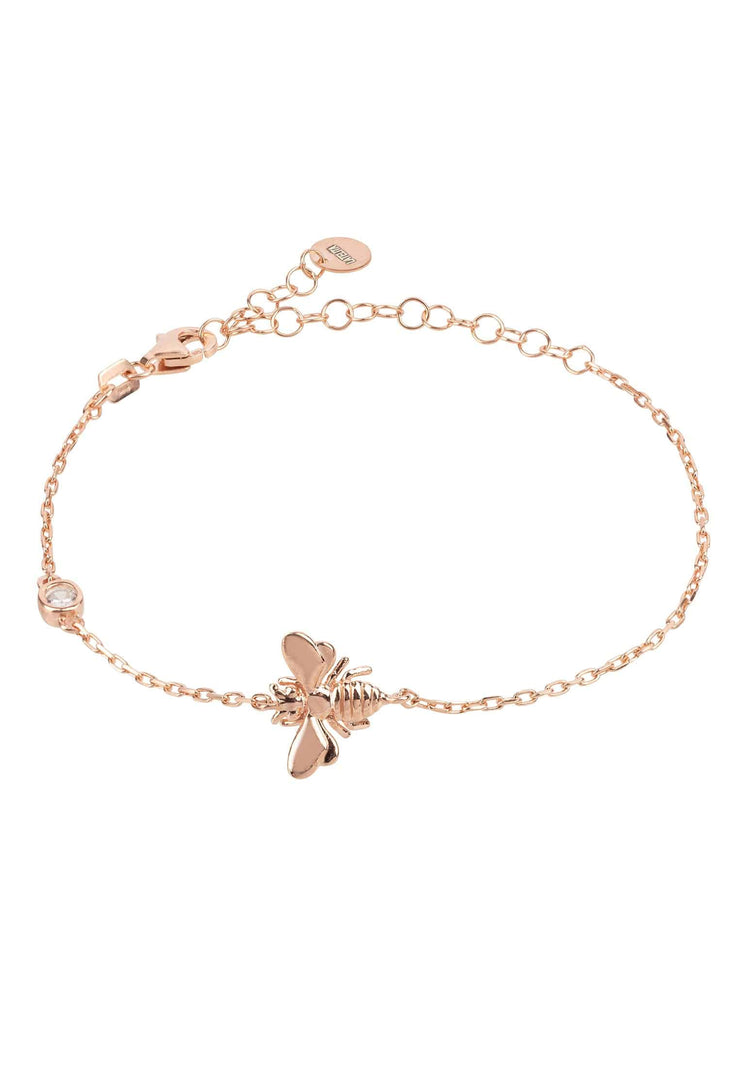 Queen Bee Bracelet Rosegold - LATELITA