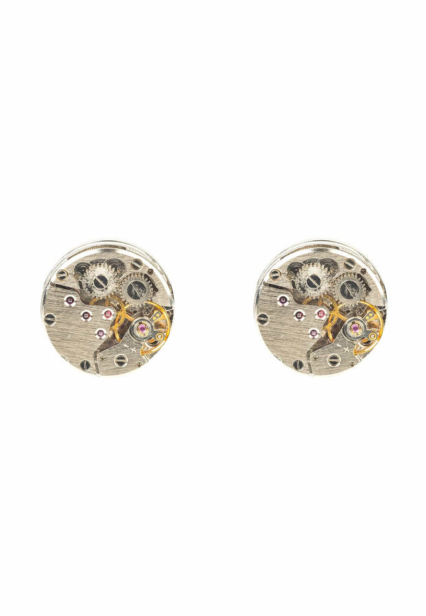Watch Movement Cufflink silver - LATELITA
