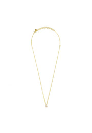 Diamond Zodiac Necklace Gold Capricorn - LATELITA