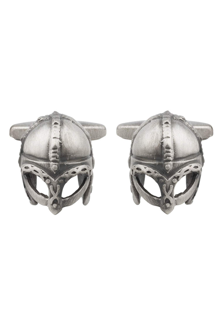 Roman Warrior Spartan Cufflink Oxidised - LATELITA