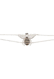 Honey Bee Bracelet Silver - LATELITA