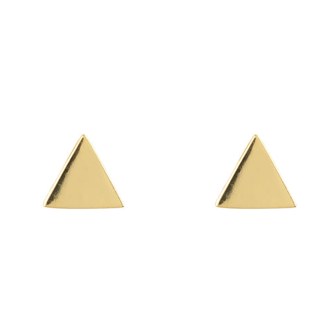 Triangle Cosmic Stud Earrings - LÁTELITA - 1