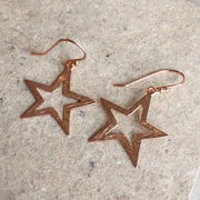 Cosmic Large Open Star Earring - LATELITA
