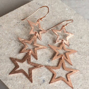 Triple Open Star Earring - LÁTELITA - 5