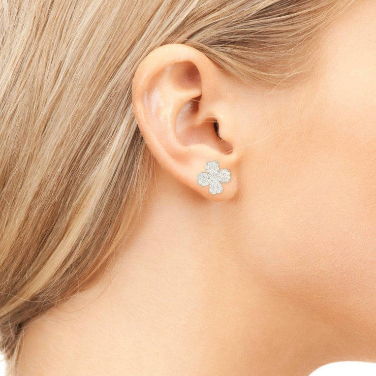Lucky Four Leaf Clover Earring - LATELITA